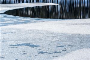 Espejo nevado