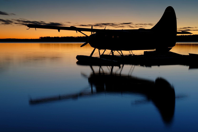 Pickle Lake sunset