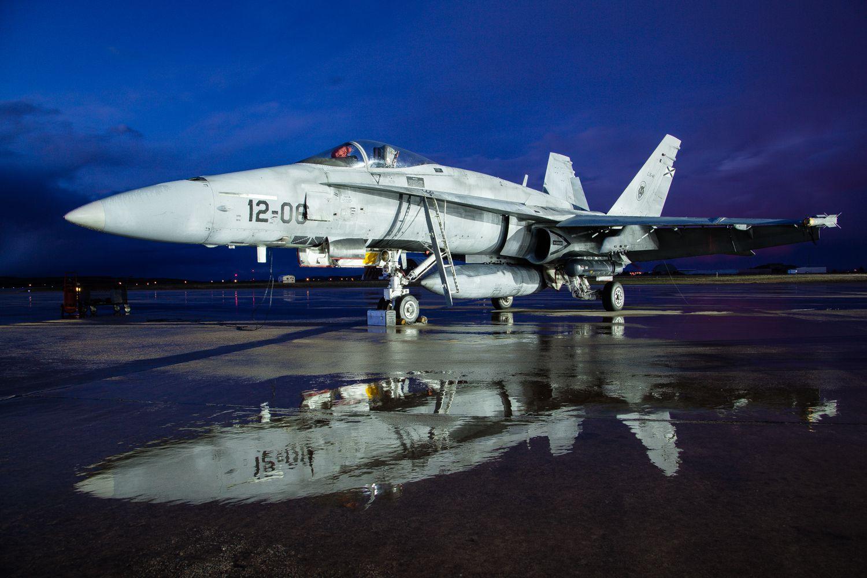 F18 tras la tormenta