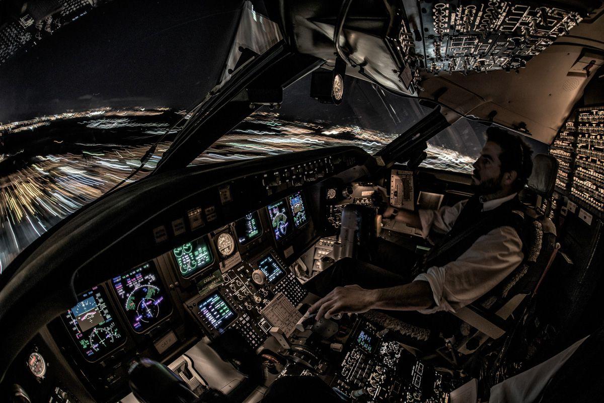 Aterrizaje nocturno
