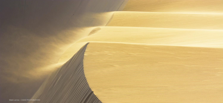 Cascada de arena