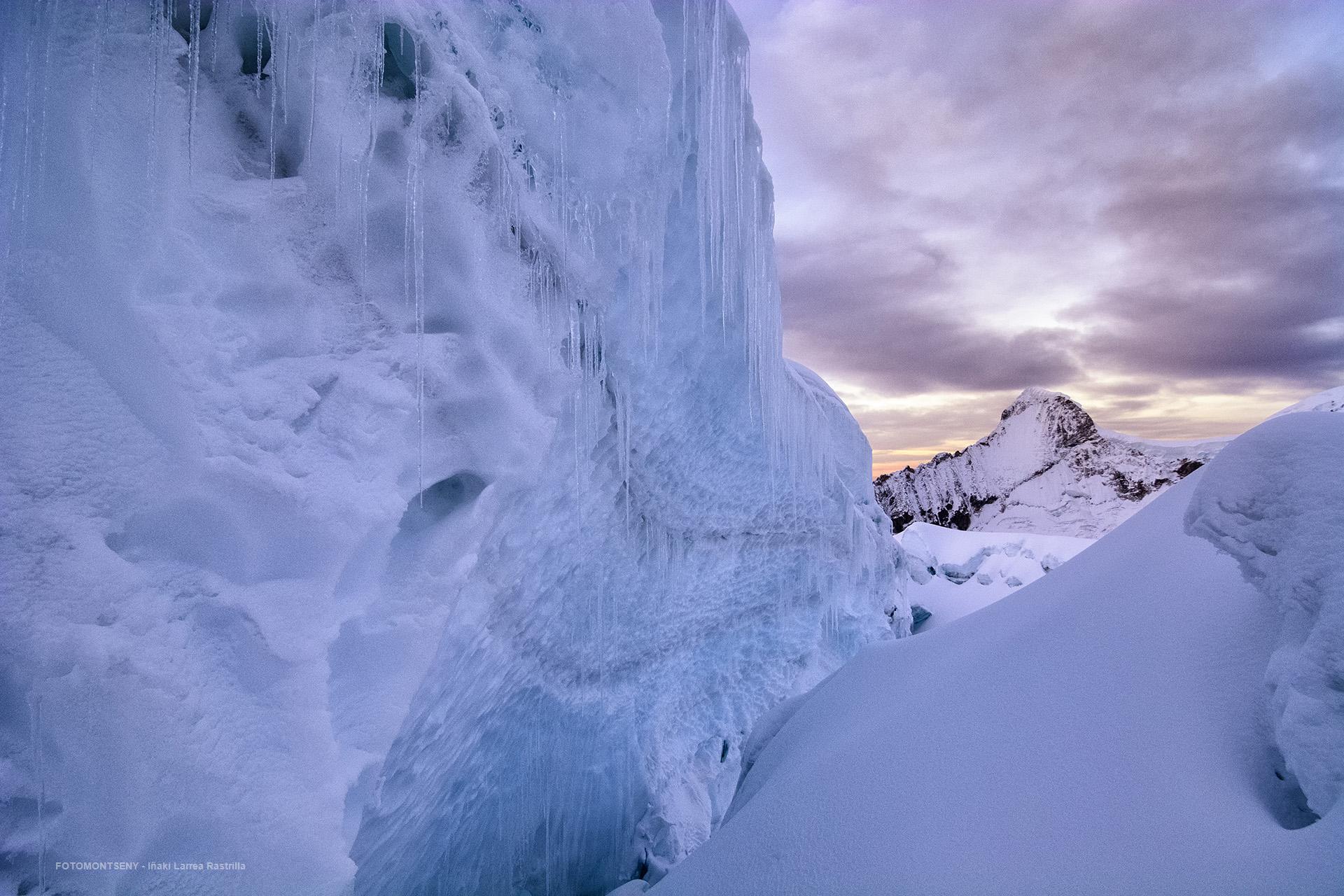 Entre hielo y roca