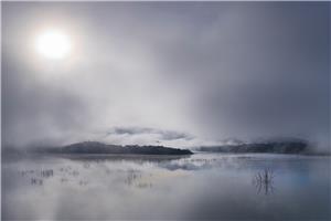 Nieblas en Guadalcacín