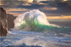 Rough sea 11