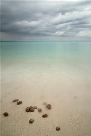 Bolitas en la playa