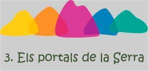 3. Els portals de la Serra. Pobles i llogarets.